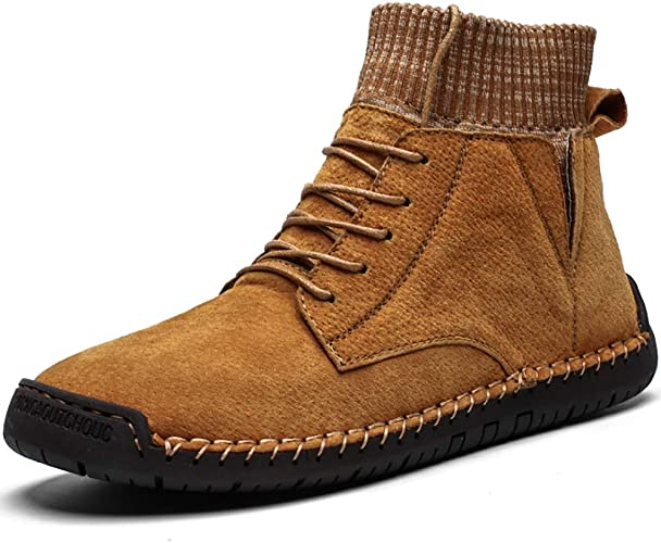 MEN/'S DESERT SUEDE LEATHER CHUKKA CASUAL DRESS LACE UP LINED Work ANKLE BOOTS
