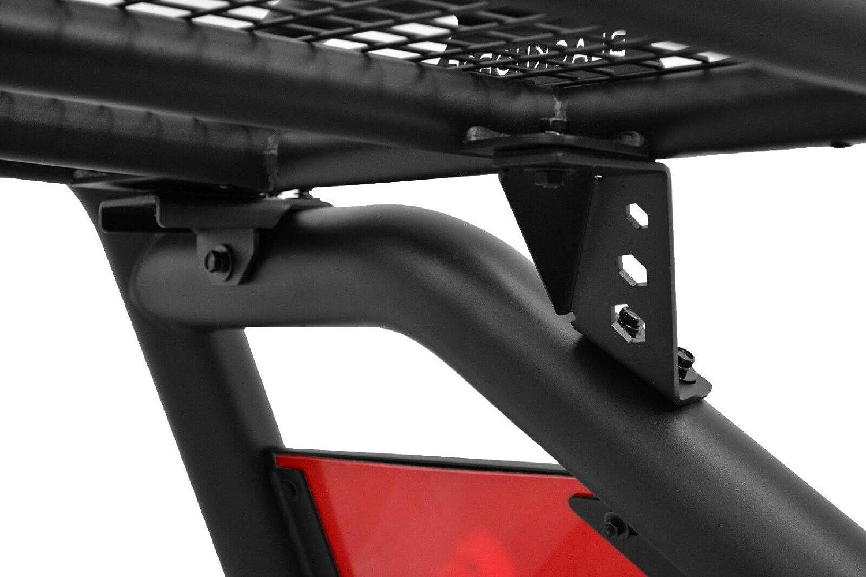 Black Horse Atlas Roll Bar Black ATRB5BK Compatible with 15-21 Chevrolet Colorado//GMC Canyon
