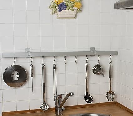 InCasa Asta appendi utensili da cucina 32x12 mm, L. 150 cm. in ...