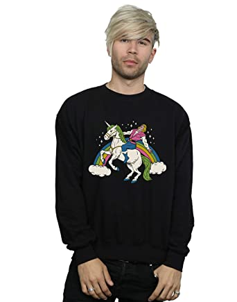 Vincent Trinidad Girls She-Man Unicorn Sweatshirt