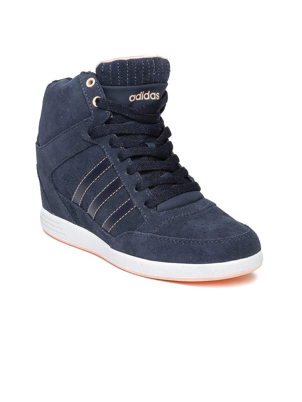 922820bd7980 ... buy adidas neo women navy super wedge suede sneakers 8uk buy online at  low prices in