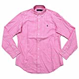 Polo Ralph Lauren Mens Gingam Buttondown Shirt (S, Pink Checks)