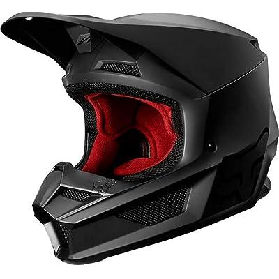 2020 Fox Racing Youth V1 Matte Black Helmet-YL: Fox Racing: Automotive
