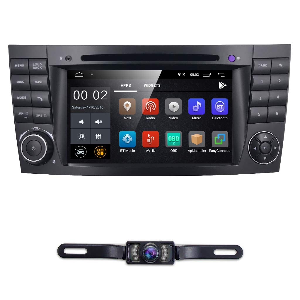 hizpo 7 Inch Android 8 1 Car Stereo Radio DVD Player GPS Can