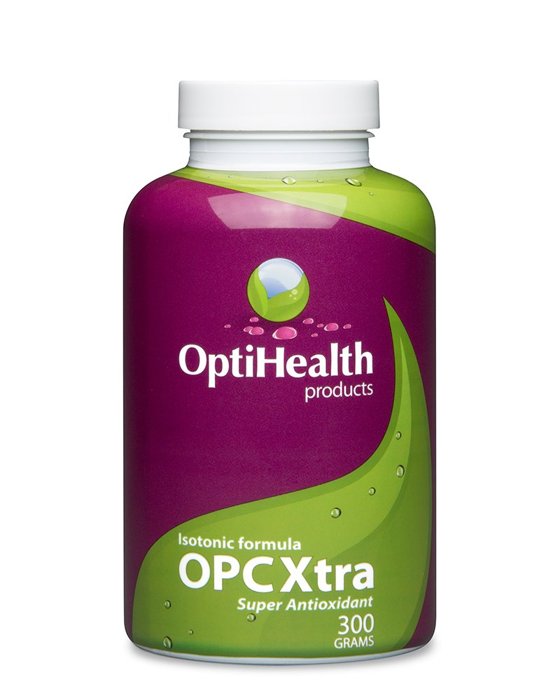 OptiHealth OPCXtra Isotonic OPC - 3 Month Supply - Grape Seed Extract, Pine Bark Extract, Red Wine Extract, Citrus Bioflavonoids, Green Tea Leaf - Super Antioxidant Polyphenols Supplement with Vitamin C, Vitamin E, Potassium
