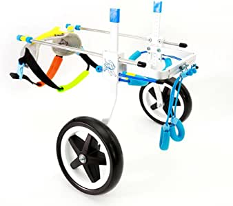 ExGizmo Pet Wheelchair Dog Cart Carrier Specially for Small Medium Large Corgi,Dachshund(S)