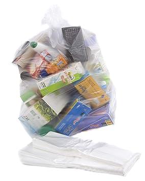 200 Clair Recyclage Sacs Sacs Poubelle – 64 Calibre par Sac Il Plastiques e8a1599a503