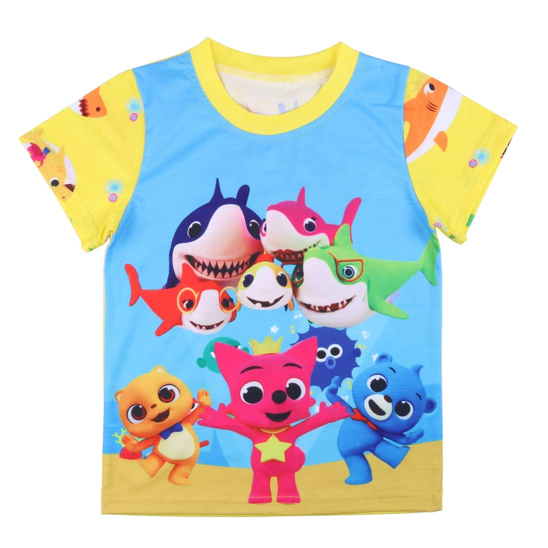 Crazy Gotend Toddler Baby Girls Short Sleeve Sleepwear Outfit 2PCS Pajamas Set