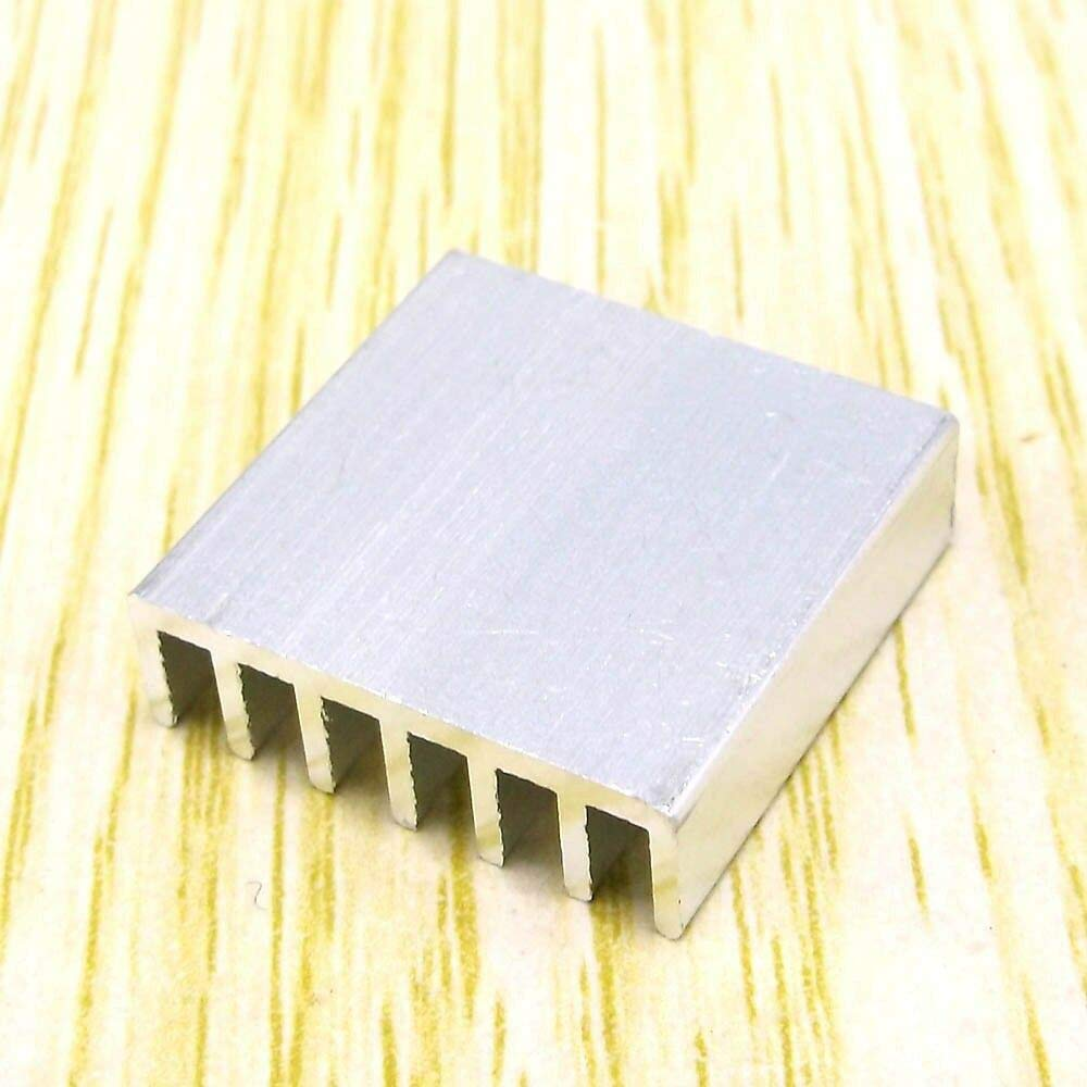 FidgetKute Cooling Fin Heat Sink for Chip IC PCB Computer CPU Radiator Show One Size 20mm20mm6mm