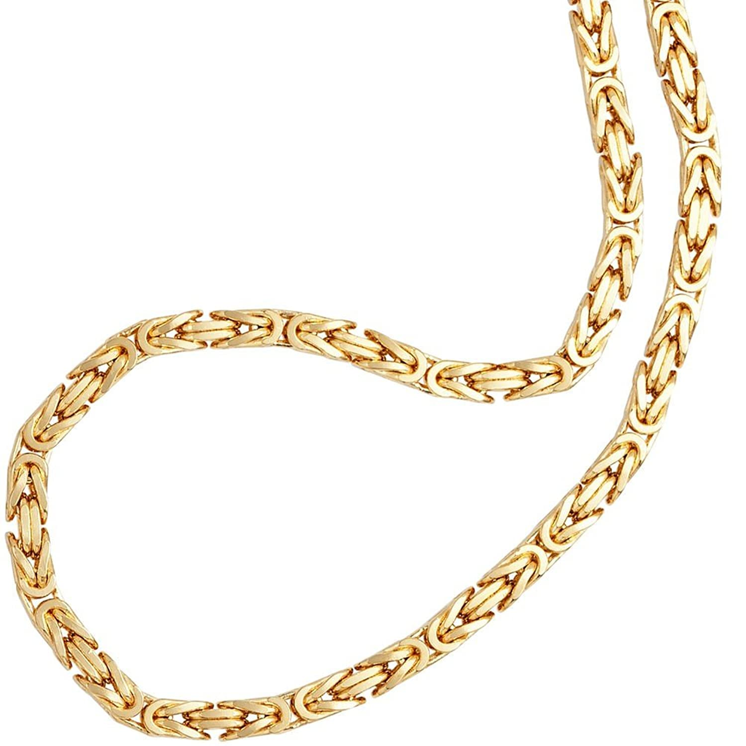 2mm thick 14k gold plated on solid sterling silver 925 stamped Italian Byzantine, Etruscan, Birdcage, Fool's Dilemma, Idiot's Trap, Idiot's Delight, Bird's Nest, King's Braid link chain necklace bracelet anklet with lobster c