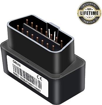 Mini OBD II Traceur GPS Plug/& Play Plate-forme /à vie Gratuite Lncoon GPS Tracker Localisateur avec Chargement Gratuit//Suivi en Temps R/éel//G/éo-cl/ôture//Syst/ème dalerte pour Voiture//Gestion de Flotte