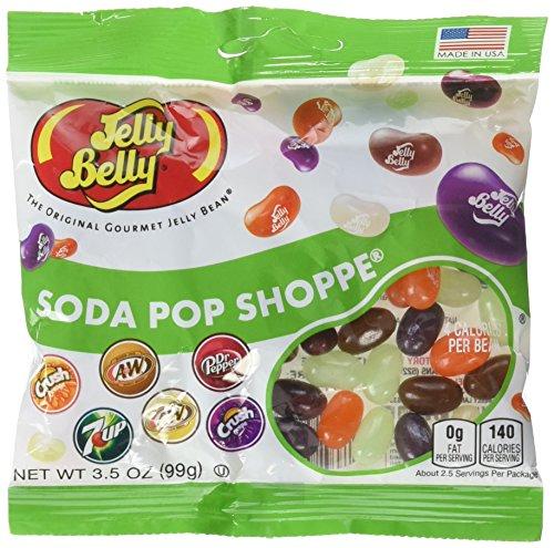 - Jelly Belly 66834 3.5 Oz. Jelly Belly® Soda Pop Shoppe®