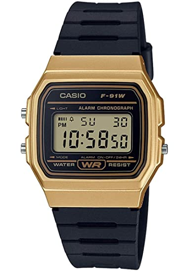 5c67bf508510 Amazon.com  Casio F-91WM-9A unisex quartz wristwatch  CASIO  Watches