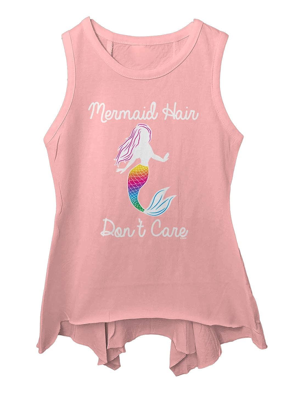 Beach Summer Toddler//Youth Sleeveless Backswing Mermaid Hair Dont Care