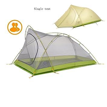 2dfbf79f27bd QFFL zhangpeng Tent Aluminum Pole Single Double Tent Double Rain Tent Three  Seasons Outdoor Camping Climbing