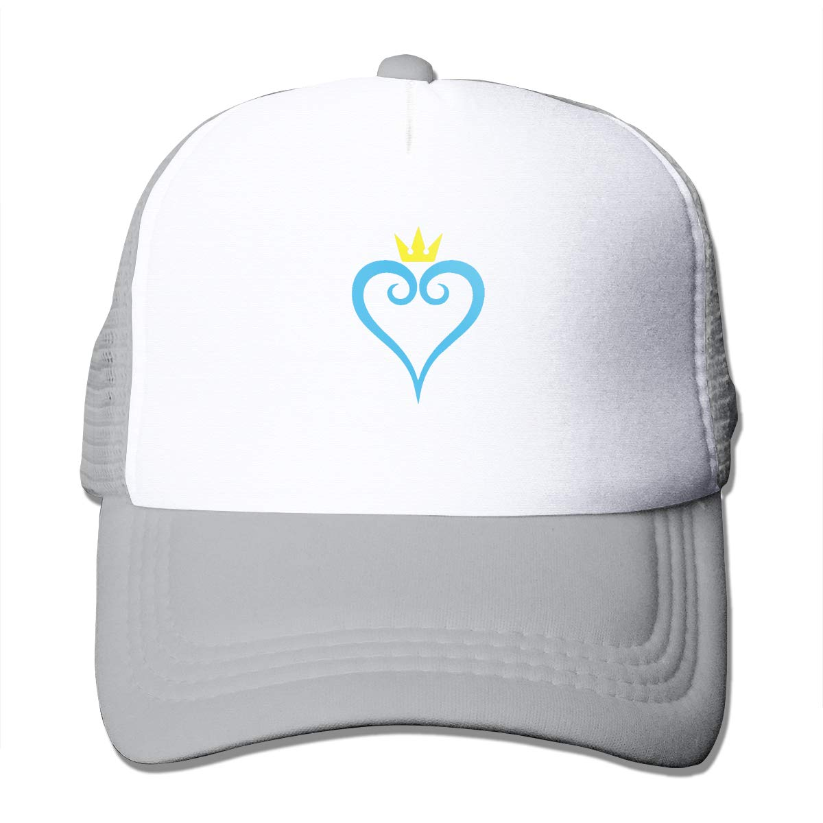 Bigsooyeest Kingdom Hearts Unisex Adult Trucker Cap Hat Mesh Back Trucker Hats