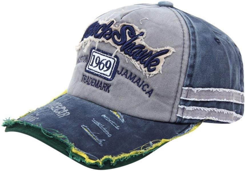 Malloom SnapBack sombreros Unisex verano letra W Hockey béisbol ...