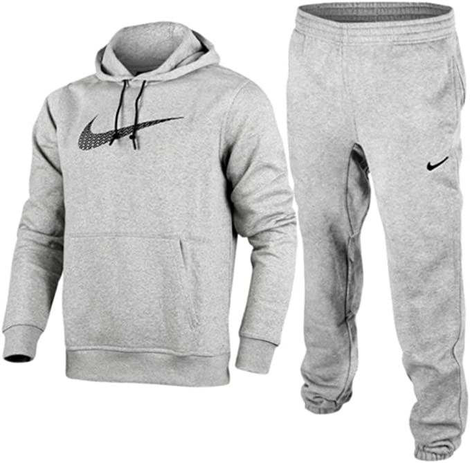 Nike Herren Fleece Overhead kompletter Trainingsanzug