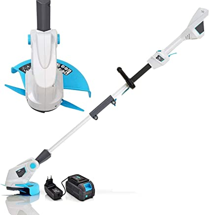 Swift 40v Cordless Grass Trimmer 9000 Rpm 25 Cm Cutting Width Lightweight Adjustable Top String Trimmers Edger Include Samsung Battery And Charger Amazon Co Uk Garden Outdoors