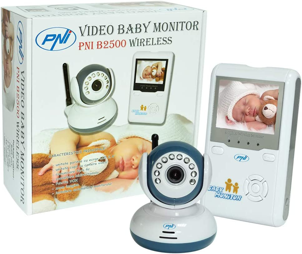 Vigilabébé inalámbrico, Video Baby Monitor PNI B2500 2.5
