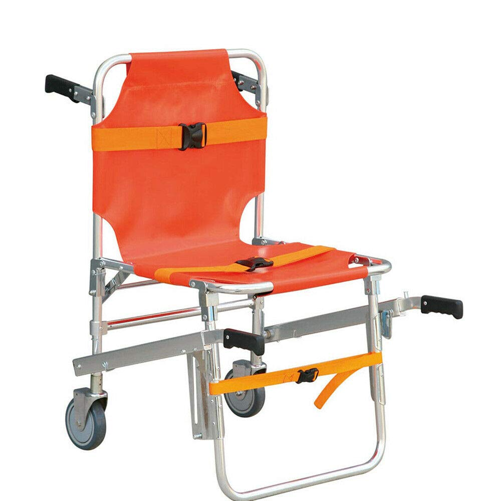 Stair Chair EMS Medical Emergency Aluminum Evacuation Adjustable by Xianxus