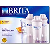 Brita Pitcher Replacement Filter (3 Pitcher Filters)