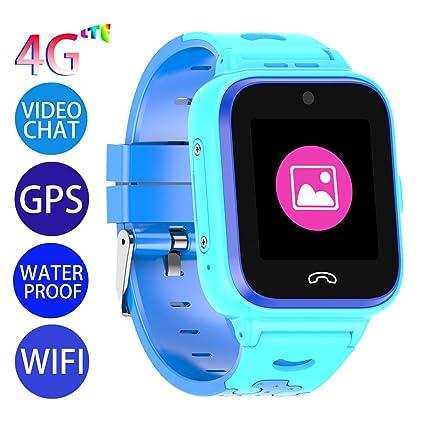 Amazon.com: Vowor Kids Smart Watch, 4G WiFi GPS LBS Tracker ...