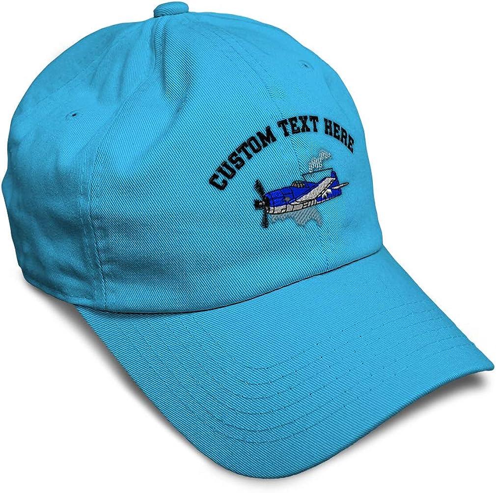 Custom Soft Baseball Cap Plane F6F Hellcat Embroidery Dad Hats for Men /& Women