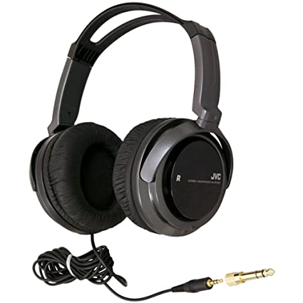 Amazon.com: JVC HARX300 Full-Size Headphones, Black: Home Audio