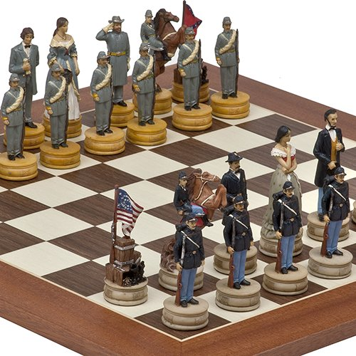 American Civil War & Stuyvesant St. Chess Board from Spain