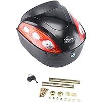 jueyan 24L Moto Valise étanche Top Case pour scooter, moto scooter et moto