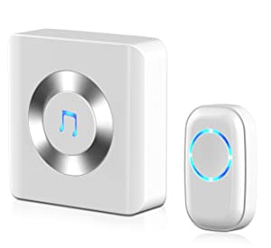 Wireless Doorbell, JETech® Portable Wireless