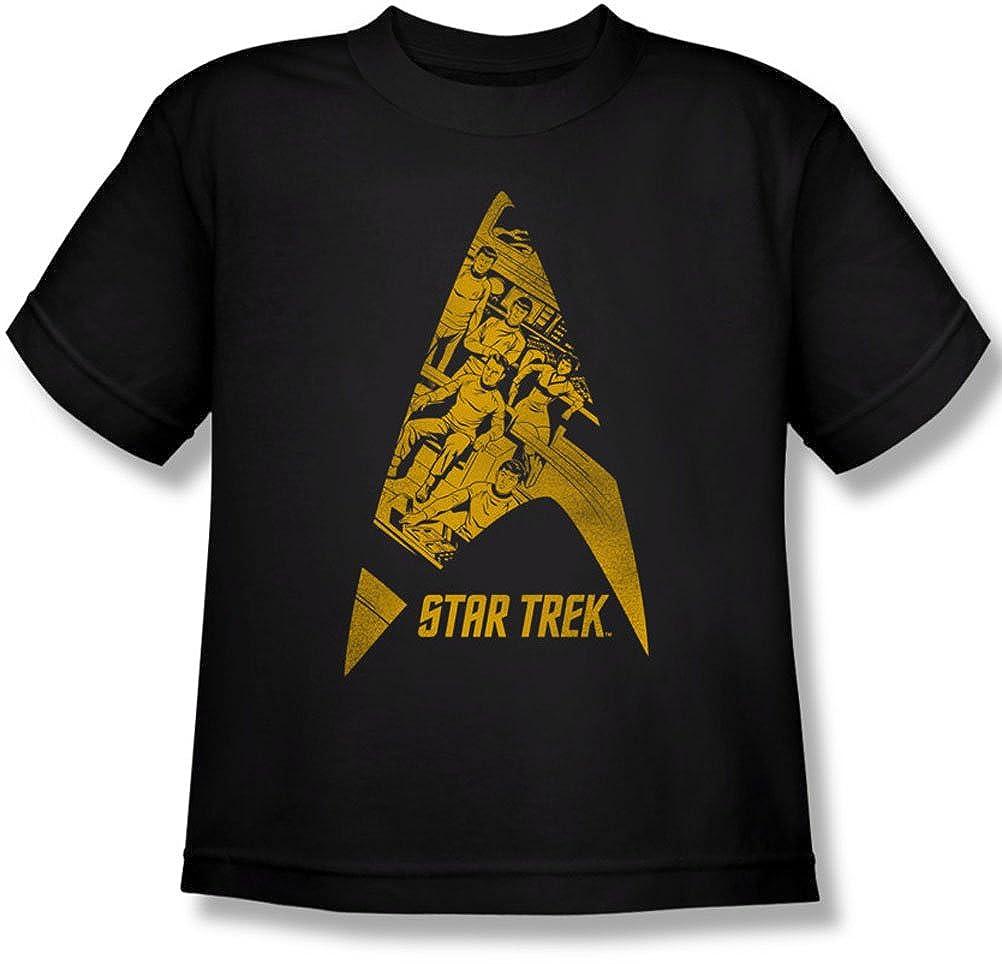 Star Trek - - Delta Juventud Camiseta del equipo, X-Large, Black ...