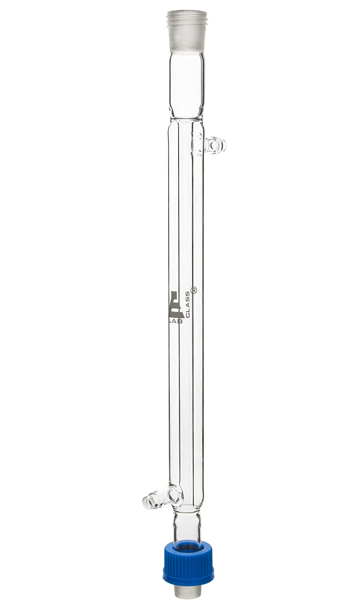 Liebig Condenser, 200mm, Socket/Cone Size 19/26, Interchangeable Screw Thread Joint, Borosilicate Glass - Eisco Labs by EISCO
