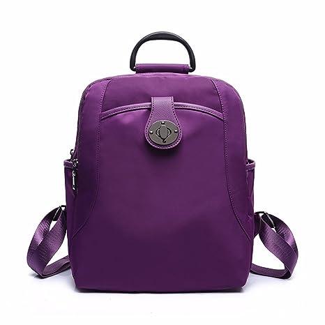 abab988576f8 Amazon.com: MSZYZ Ladies' shoulder bag, women's travel backpack ...