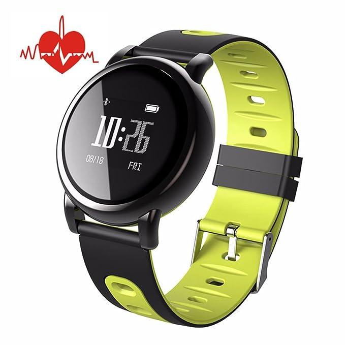 MORFINE Bluetooth Reloj inteligente 0.96 OLED Fitness ...