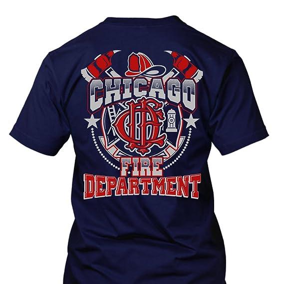 Chicago Fire Dept Design T Shirt Amazon De Bekleidung