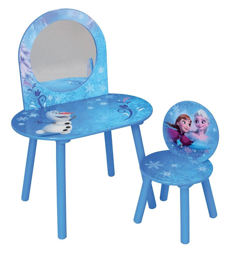 FUN HOUSE Disney Frozen toletta con Sedia per Bambini, MDF, 60 x 40 x 84 cm 60x 40x 84cm CIJEP 712832
