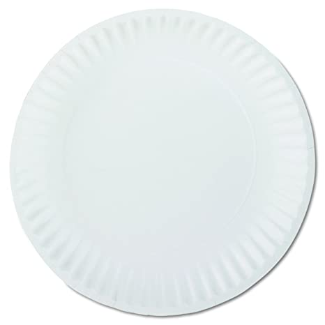 AJM Packaging PP9GREWH 9\u0026quot; White Paper Plates Green Label (10 Packs ...  sc 1 st  Amazon.com : paper plate manufacturers in usa - pezcame.com