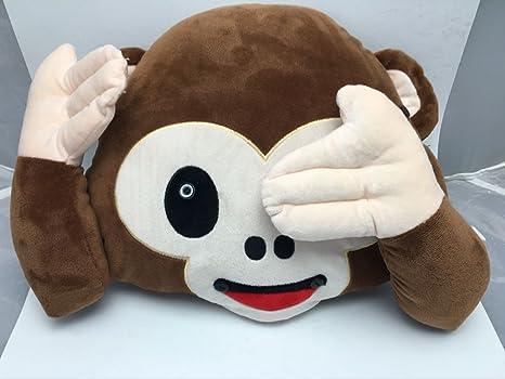 Jessie & leetty 32 cm mono cojín || Mono almohada ...