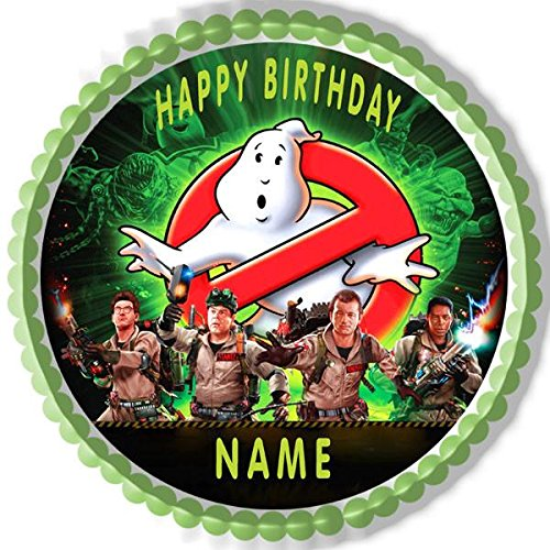 GHOSTBUSTERS - Edible Cake Topper - 7.5