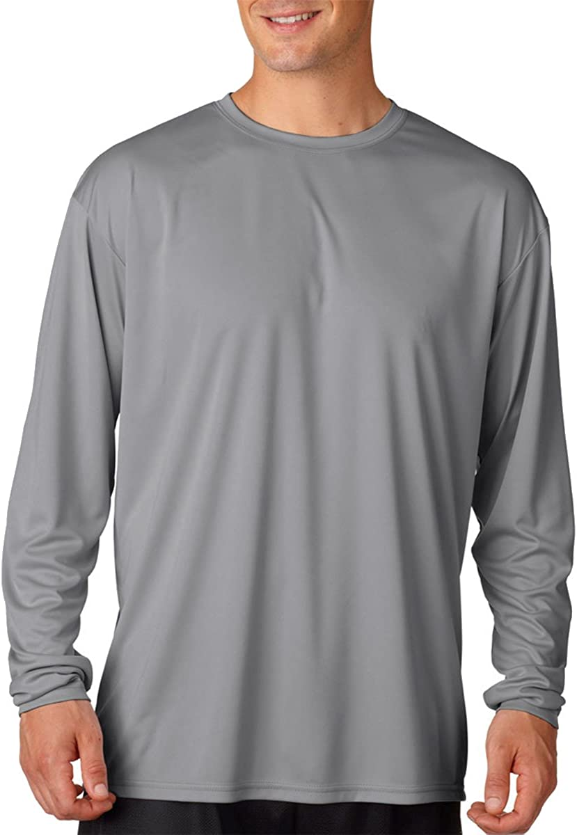 A4 Long Sleeve Cooling Performance Crew Shirt (N3165)