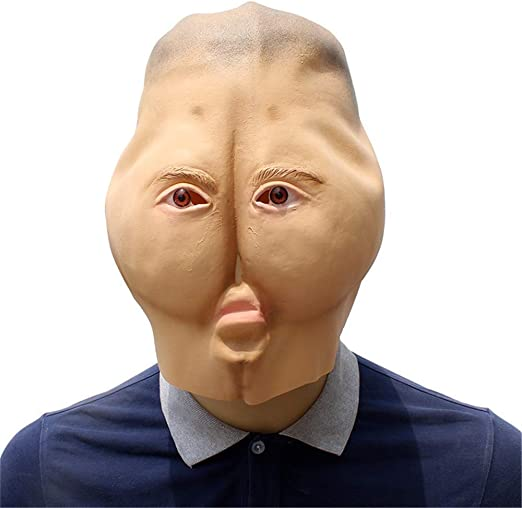 Carnaval de Halloween Divertido Máscara de Terror Anciano Anciano ...