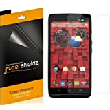 [6-Pack] Supershieldz- High Definition Clear Screen Protector For Motorola Droid Ultra (Verizon) + Lifetime Replacements Warranty [6-PACK] - Retail Packaging
