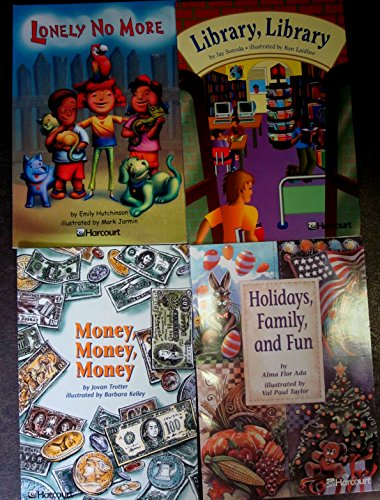 set-of-four-harcourt-4-to-45-ell-collection-paperbacks-money-money-money-by-jovan-trotter-library-li
