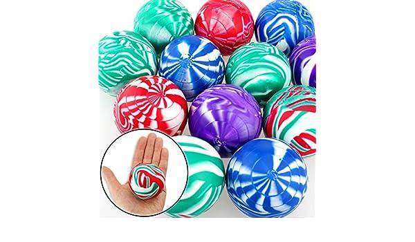 6 x flummi goma dops pelota grande XL aprox. 60 mm Spring Ball ...
