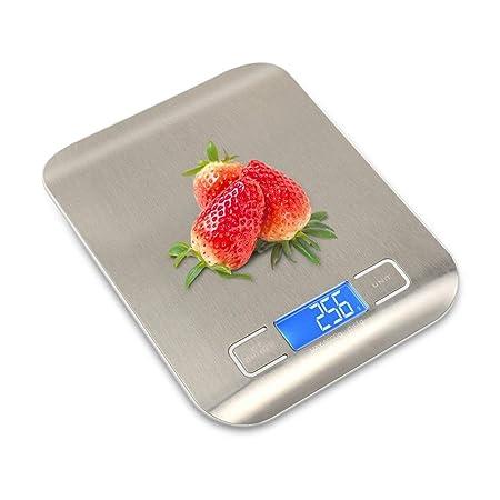 Escala electrónica 5kg de la Cocina del hogar del Acero ...