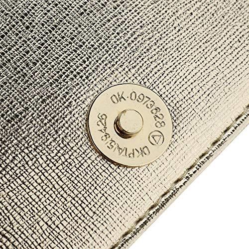 Unique Silver Femme Pochette MANYYSI Taille Argent pour Or STwx6