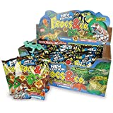 1 x FROGS & CO FOIL PACK ~ EACH PACK CONTAINS 1x FROG + FUN FACTS by DeAgostini (Who brought you Geckos & Co)