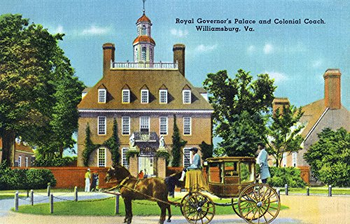 Williamsburg, Virginia - Exterior View of the Royal Governor
